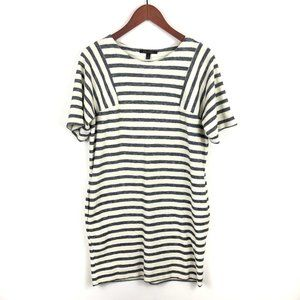 Banana Republic French Terry Striped Dress